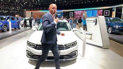 Genève 2019 - plus de technos et d'autonomie pour la Volkswagen Passat GTE (vidéo)