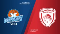 Buducnost VOLI Podgorica - Olympiacos Piraeus Highlights | Turkish Airlines EuroLeague RS Round 25