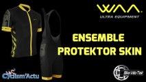 Bike Vélo Test - Cyclism'Actu a testé pour vous la tenue vélo WAA Protector Skin !