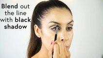 DIY Twiggy Makeup