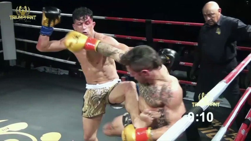 Triumphant Combat Sports Highlight Fight 1