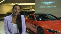 Aston Martin Lagonda at the Geneva Motor Show 2019 - Interview Maya Jama