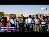 صدى البلد   محافظ أسوان يتفقد منفذ قسطل البرى ويستمع لمطالب العاملين