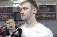 Ohio State's Matthew Baldwin discusses quarterback battle in spring practice