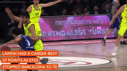 Round 25 MVP: Shane Larkin, Anadolu Efes Istanbul