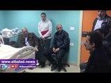 """صدى البلد    ننشر اول لقاء لاحمد مرتضى منصور بعد إصابته بـ""""الجلطة"""""""