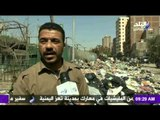 صباح البلد - أهالى بولاق يشتكون من إنتشار القمامة بالشوارع وعدم وجود صناديق مخصصة للقمامة