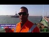 صدى البلد | الانقاذ البحري لقناة السويس يشرح كيفية تثبيت كوبري بورسعيد العائم