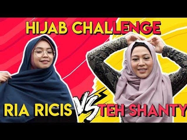Hijab Challenge - Ria Ricis VS Teh Shanty