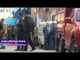 صدى البلد | لحظة وصول جثمان «الأمين العام السابق لمجلس الدولة» إلى مشرحة زينهم