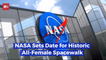 NASA Is Getting Ready For All Female Space Wall