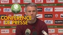 Conférence de presse AS Nancy Lorraine - FC Lorient (3-2) : Alain PERRIN (ASNL) - Mickaël LANDREAU (FCL) - 2018/2019