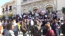 Buteflika'nın 5. Dönem Adaylığına Karşı Gösteri Düzenlendi - Tunus