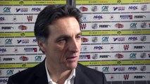 Après le match Amiens SC - Nîmes, Christophe Pélissier