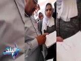 صدى البلد |  مدير مدير تعليم مطروح يطمئن الطلاب على سهولة الامتحانات بادارة الضبعة