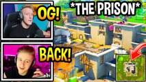Streamers React To OG PRISON RETURNING To Fortnite! (Fortnite Moments)
