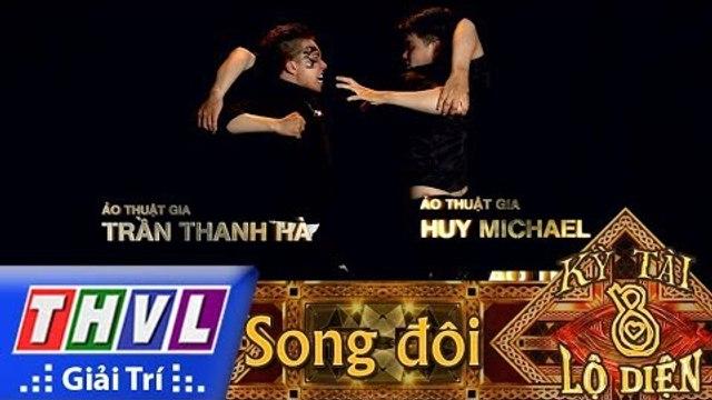THVL | Kỳ tài lộ diện Mùa 2 - Tập 8[3]: Ảo thuật gia Trần Thanh Hà, Ảo thuật gia Huy Michael