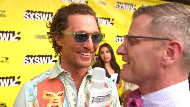 Matthew McConaughey Says ''The Beach Bum' Is An Epidemic Of Joy