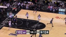 Ben Moore Posts 17 points & 17 rebounds vs. Stockton Kings