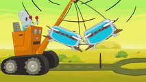 HYDRO et FLUID   Mega Truck   Épisodes complets HD   Dessins Animés Pour Enfants   WildBrain