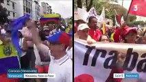 Venezuela : nouveau face-à-face entre partisans de Nicolas Maduro et de Juan Guaido