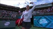 Venus Williams outlasts Petra Kvitova in second round at Indian Wells