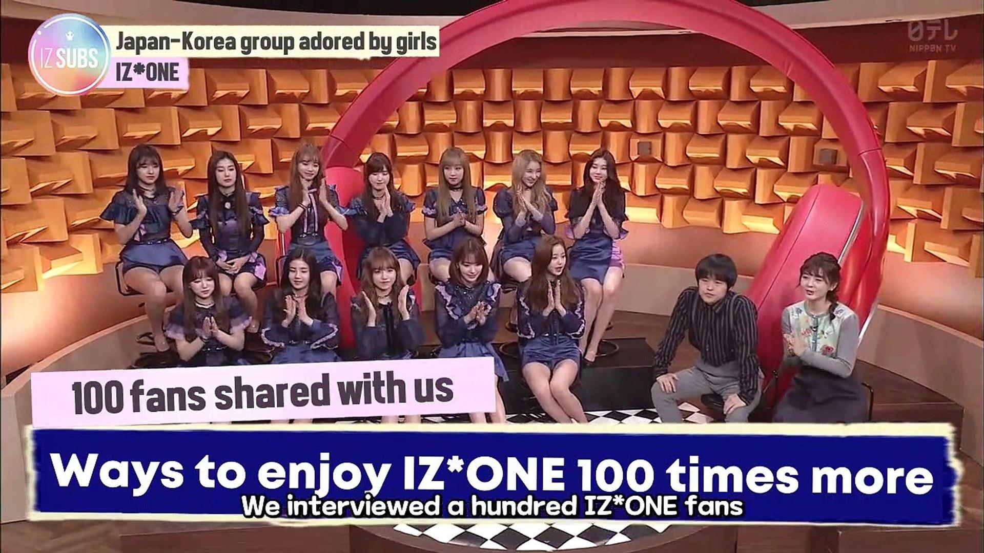 [ENG SUB] 190215 Buzz Rhythm 02 - IZ*ONE Interview and Performance