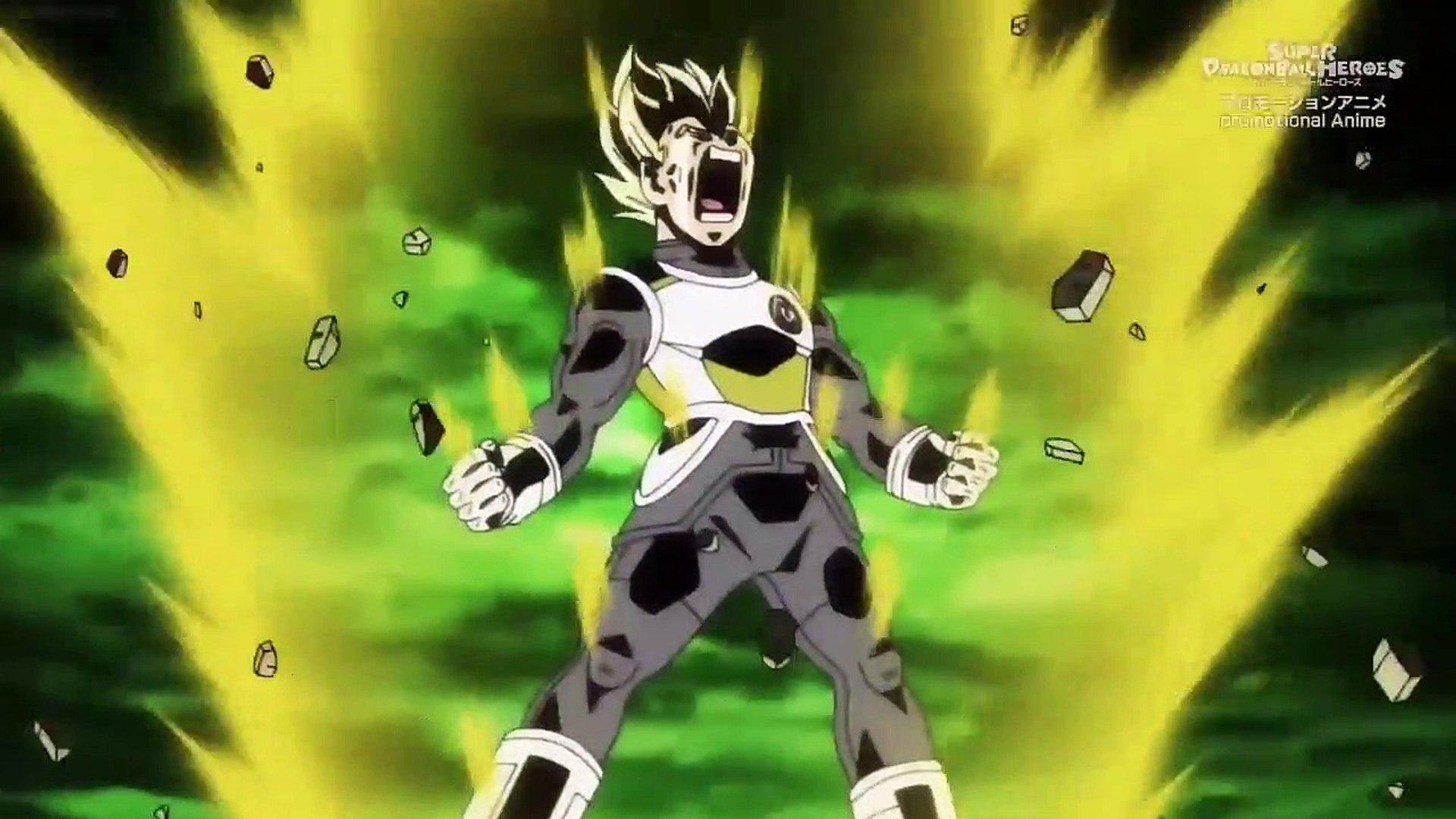 Vegeta S Epic Final Flash Vs Kale And Caulifla Dragon Ball