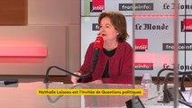 """Nathalie Loiseau répond à Philippe de Villiers et le complotisme : """"Je n'arrive pas à prendre aux sérieux des gens qui sont sortis de la politique et qui fuient toutes responsabilités"""""""