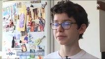 Interdit de faire certains métiers, un diabétique de 14 ans se mobilise pour faire changer la loi