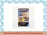 KitchenEater KE34PC 34 HP Garbage Disposer