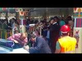 صدى البلد | توافد المواطنين على الاتوبيس النهرى احتفالا بشم النسيم
