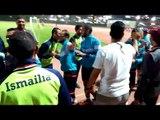 صدى البلد | احتفالات منتخب الجيزة للصم بعد الفوز ببطولة دوري المراكز للصم