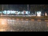 صدى البلد |  تساقط الثلوج وأمطار غزيرة على الفيوم في موجة من الطقس السيئ