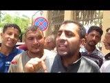 صدى البلد | أهالى 3 قرى يتوافدون على مبنى محافظة الفيوم للمطالبة بتوصيل مياه الشرب