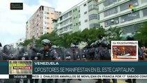 Venezuela: opositores marchan en Caracas