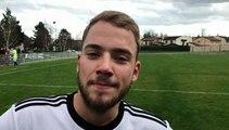R1 (17ème journée) – Maxence SOULEYMAN réagit après le nul du FC DOMTAC à MDA Foot B