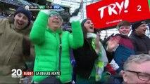 Rugby : l'Irlande balaie le XV de France