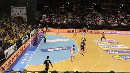 Chambéry 36 33 Nantes Mindegia magic passe pour Marescot 10/03/2019