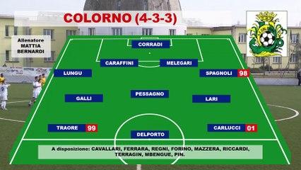 Colorno- Salsomaggiore 4-0, highlights e interviste