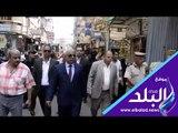 صدي البلد | مدير أمن كفرالشيخ يقود حملة لإزالة الإشغالات