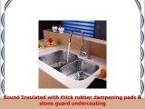 Kraus KHU10032KPF1621KSD30SS 32 Undermount Single Bowl Stainless Steel Kitchen Sink