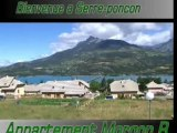Morgon B location Hautes-alpes Savines lac de Serre-Poncon