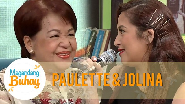 Momshie Jolina almost tears up with her mom's message   Magandang Buhay