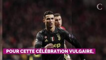 VIDEO. Sacré coquin ! La célébration obscène de Cristiano Ronaldo lors de la qualification de la Juventus