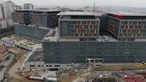 İstanbul- Yenilenen Okmeydanı Eğtim ve Araştırma Hastanesi Havadan Görüntülendi