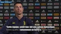 Le message de Cristiano Ronaldo aux supporters de la Juventus