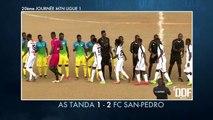 Football : Le résumé de la 20ème journée MTN ligue 1 AST vs FCSP