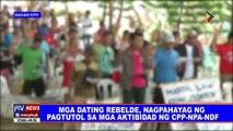 Mga dating rebelde, nagpahayag ng pagtutol sa mga aktibidad ng CPP-NPA-NDF