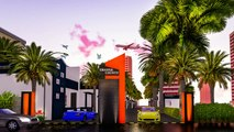 Dholera Smart City Phase 5 | Orange County Full View | Smart Homes Infrastructure